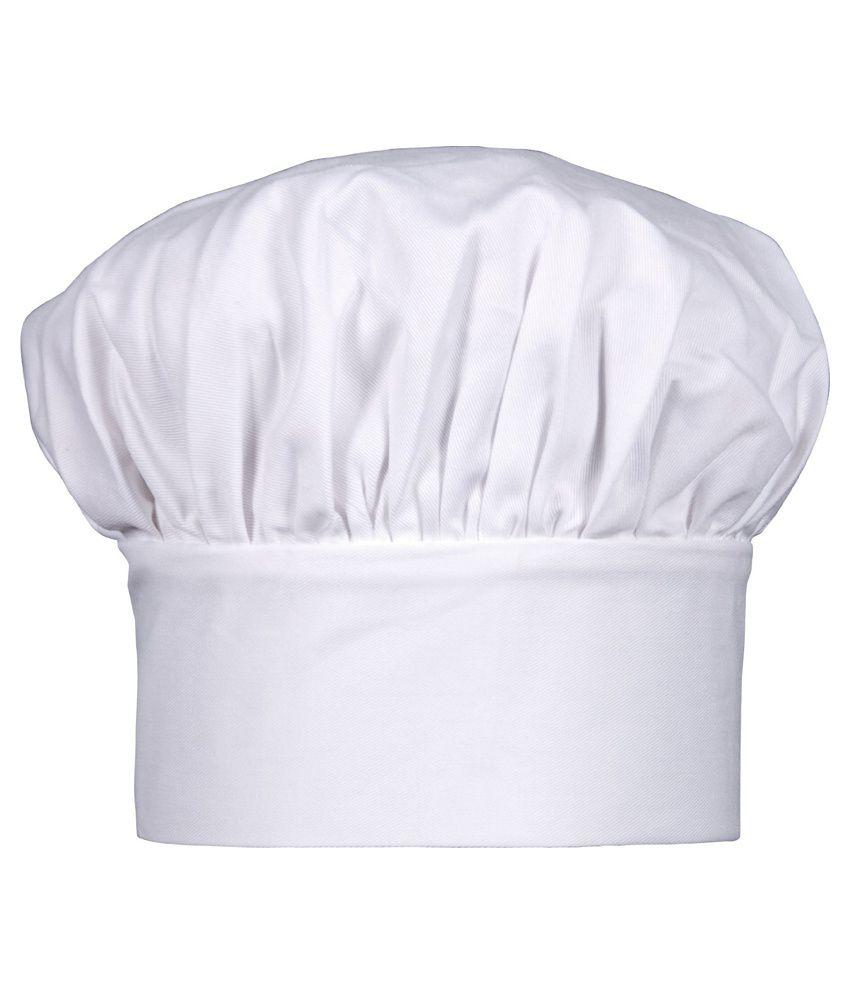Imam Cap Industries White Chef Cap For Women