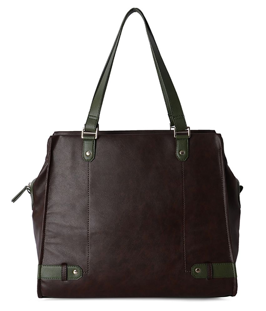 Baggit Finesse Dum Brown Shoulder Bag