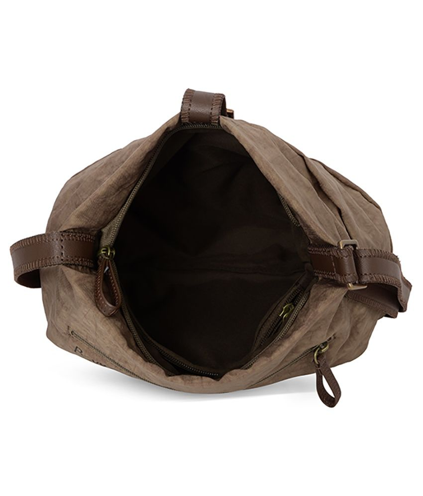 Baggit Simply Excel Brown Sling Bag