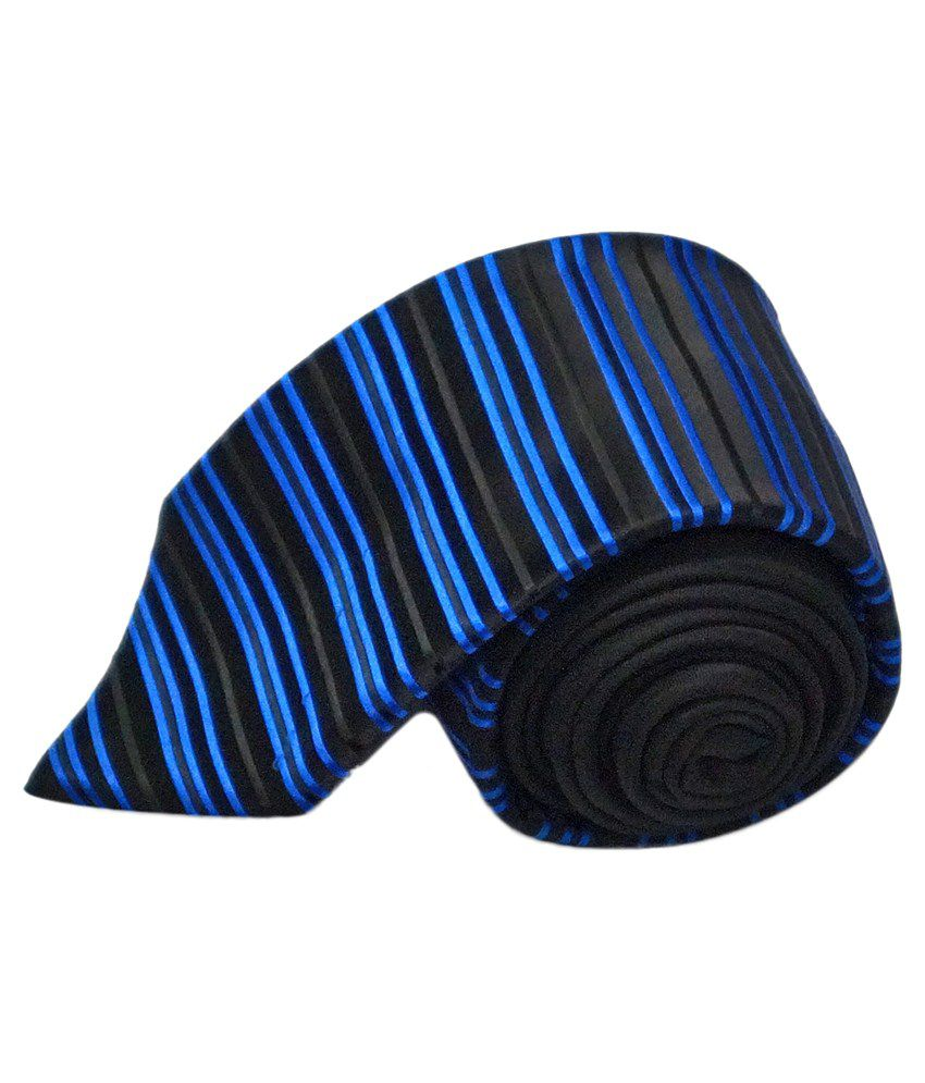 Ali Darzi Blue Silk Casual Neck Tie