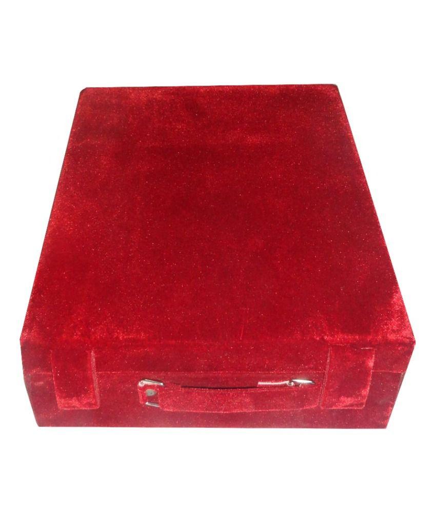 Atorakushon 6 Roll Rod Wodden Velvet Bangles Box