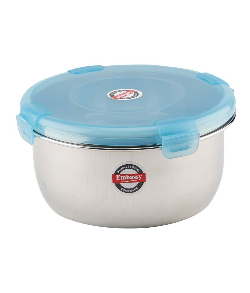 Embassy stainless steel lock pot multipurpose storage for Consul container