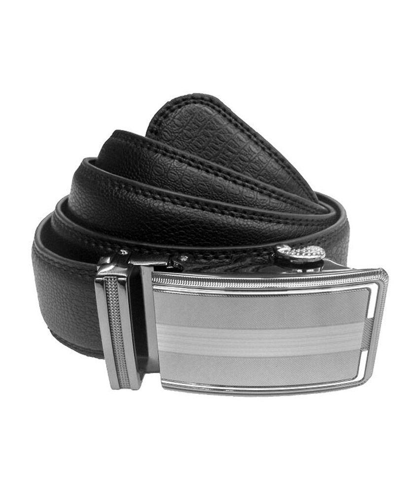 Imported Black Genuine Leather Men's Formal Belt