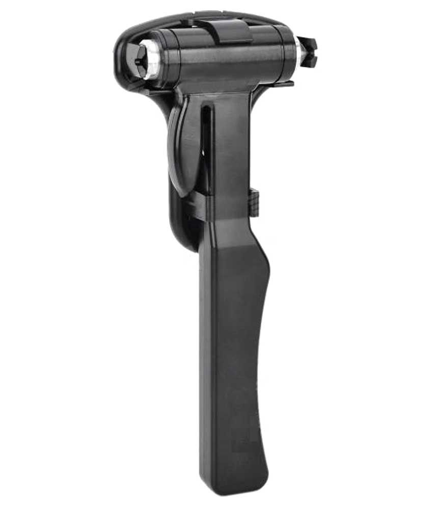 Relisales S-589 Stainless Steel Hammer With Holder-Black & Silver
