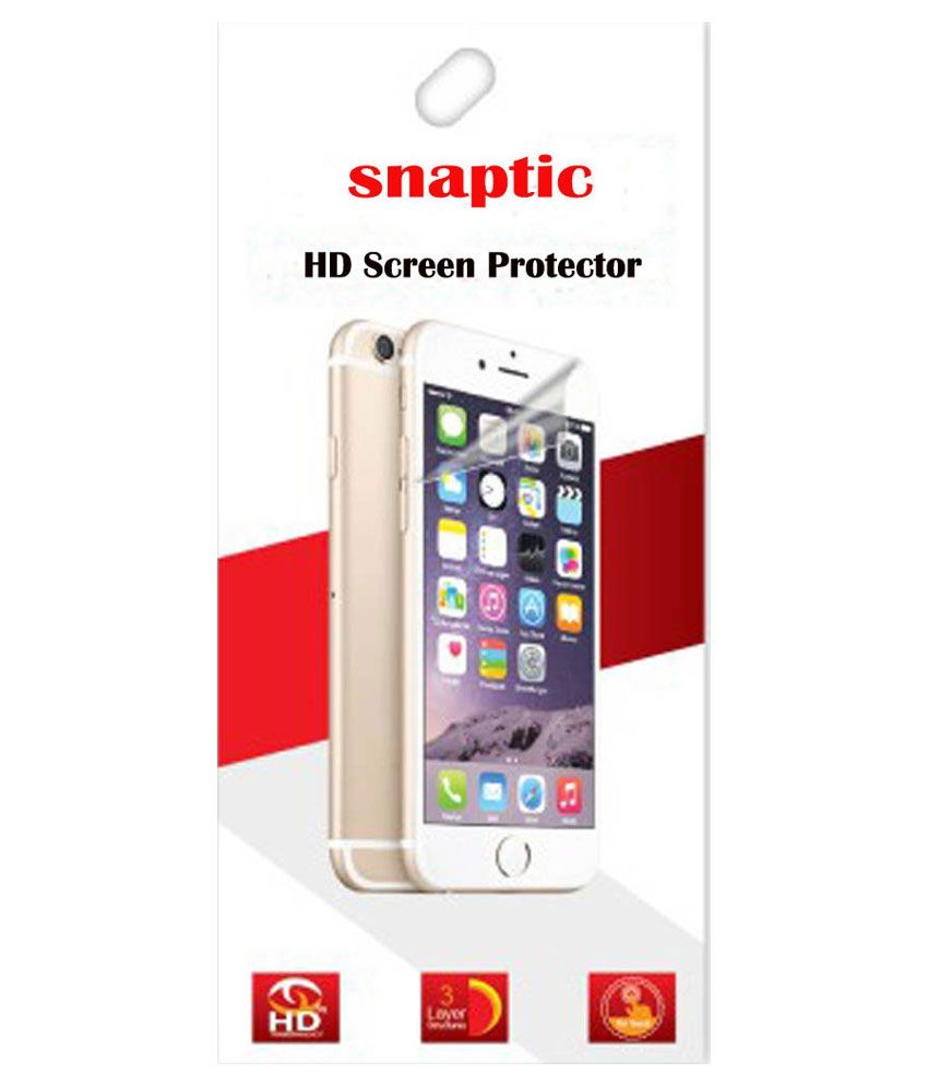 Snaptic Hd Clear Screen Guard For Samsung Galaxy J2 - Set Of 3
