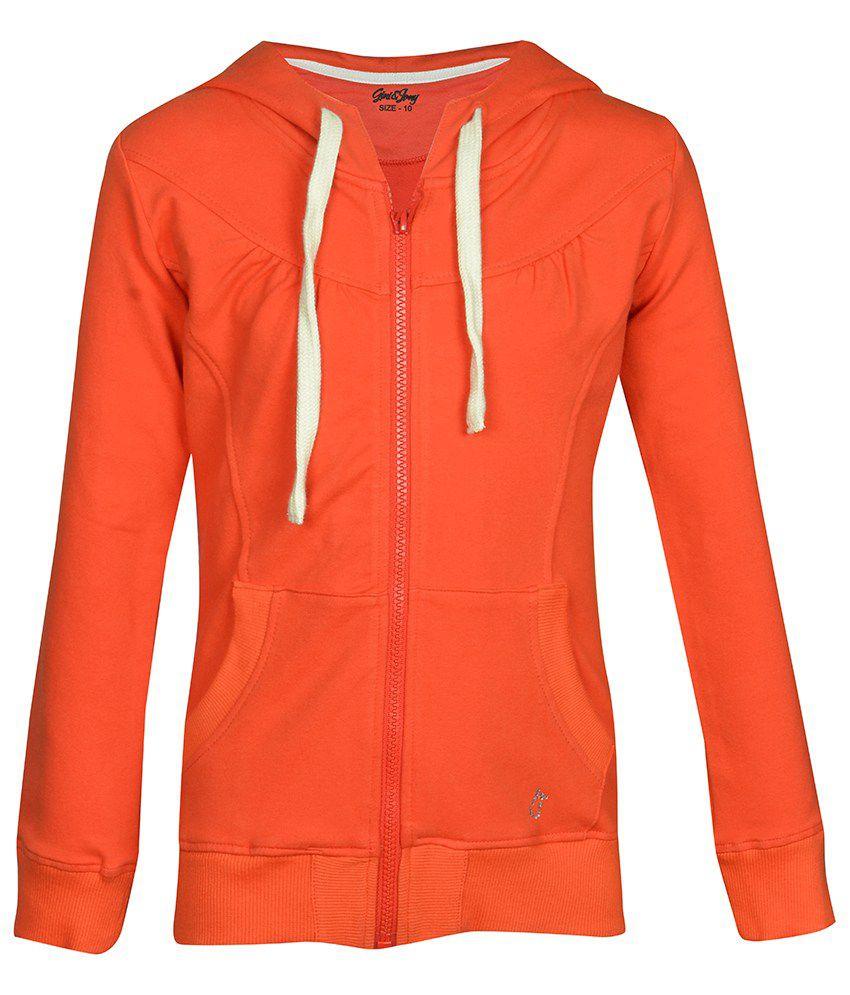Gini & Jony Maroon Full Sleeves Jacket