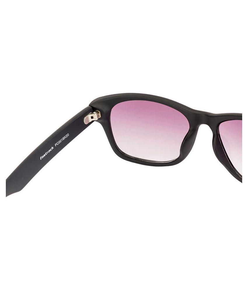 Fastrack Black Wayfarer Sunglasses  fastrack black wayfarer sunglasses art ftgfpc001bk20