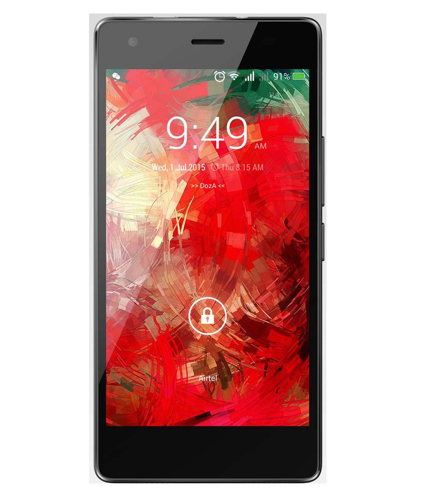 Intex Aqua Ace 4G 16GB Black