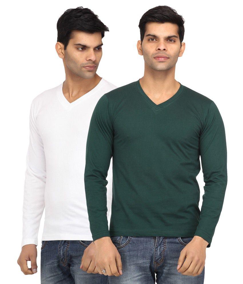 Leana Multicolour Cotton T-Shirt