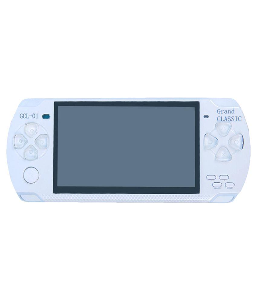 Grand Classic Psp Handheld Gaming Console- White