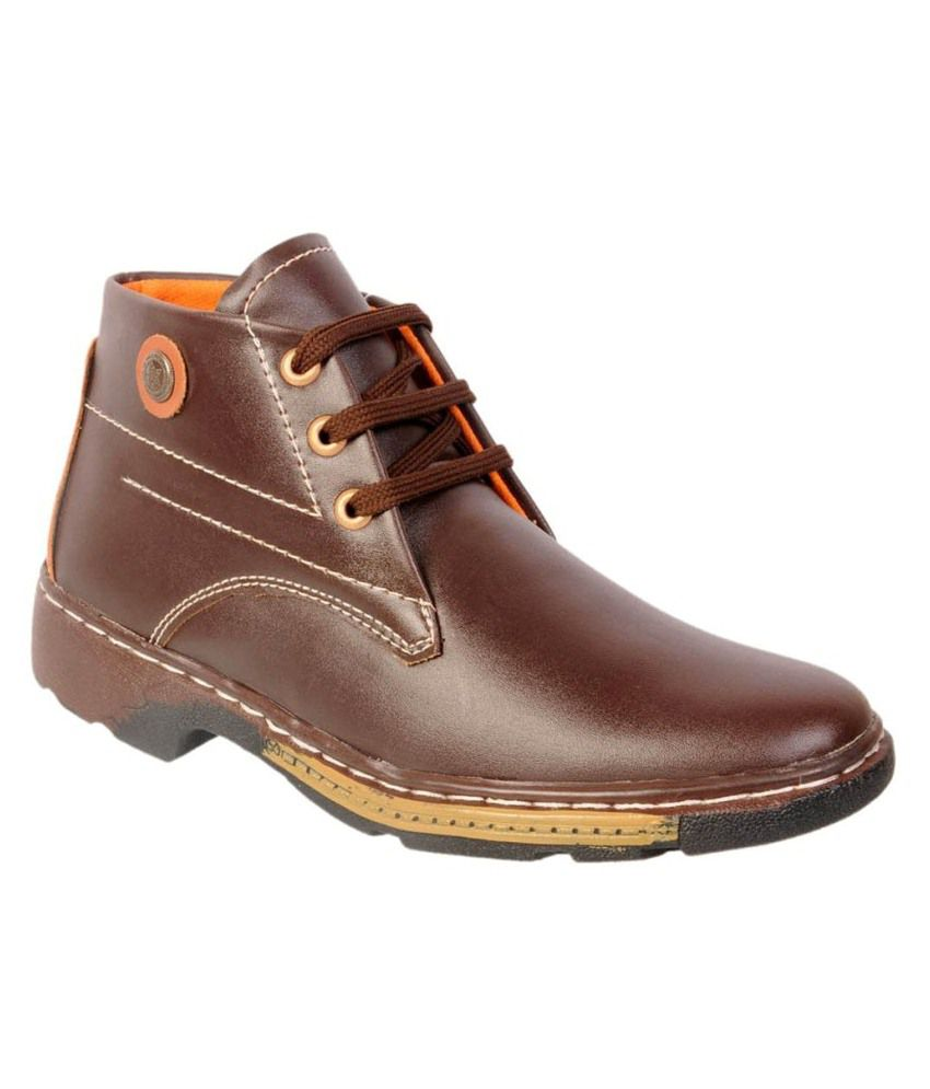 Speed Sports Brown Boots