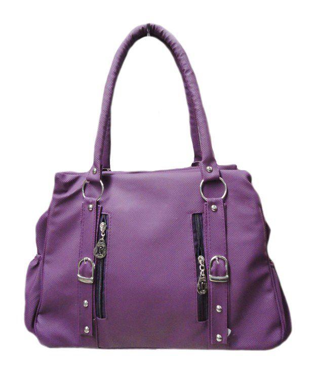 Kreative Purple Shoulder Bag