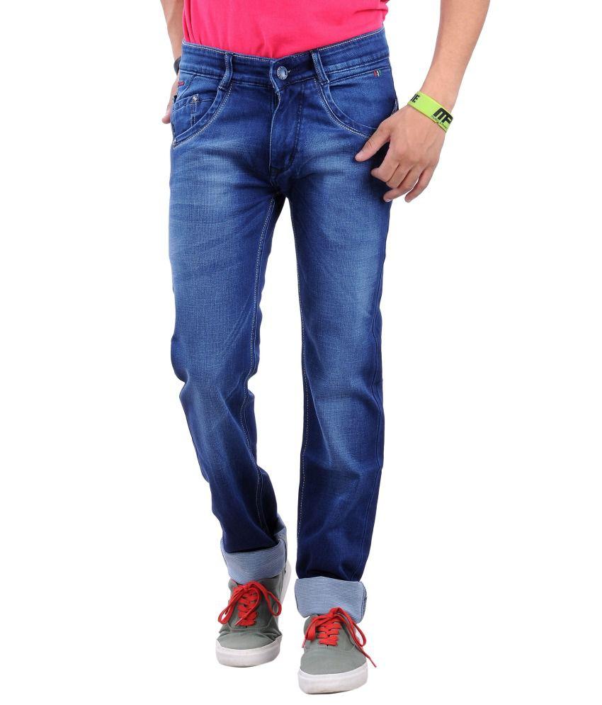 La Marino Blue Slim Fit Jeans