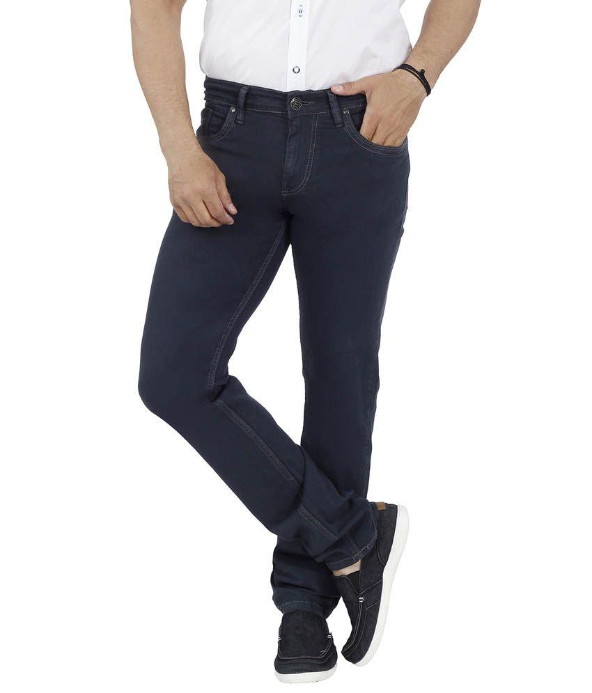 Lawman Blue Cotton Blend Jeans