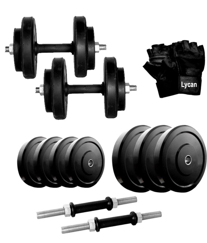 Lycan Dumbbell Set With Accessories
