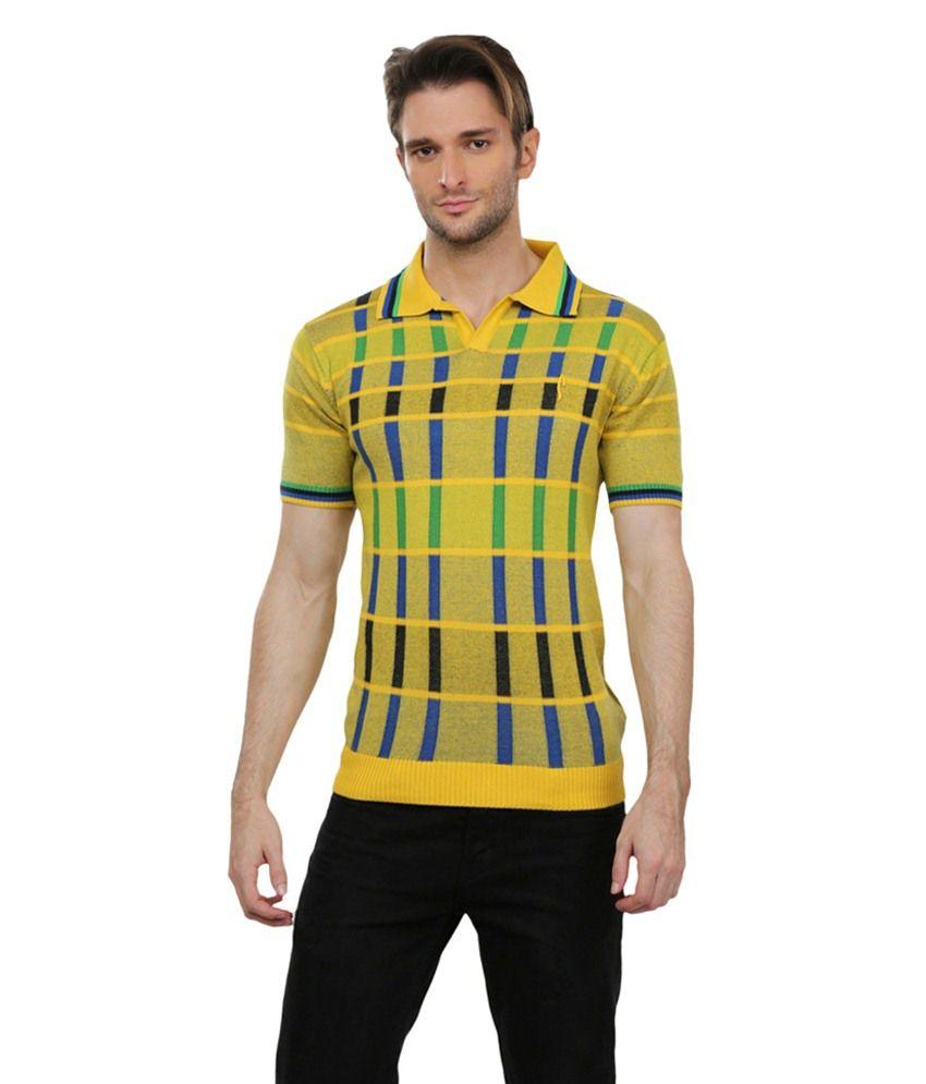 Pramukhautomation Multicolour Half Sleeve Polo T-Shirt