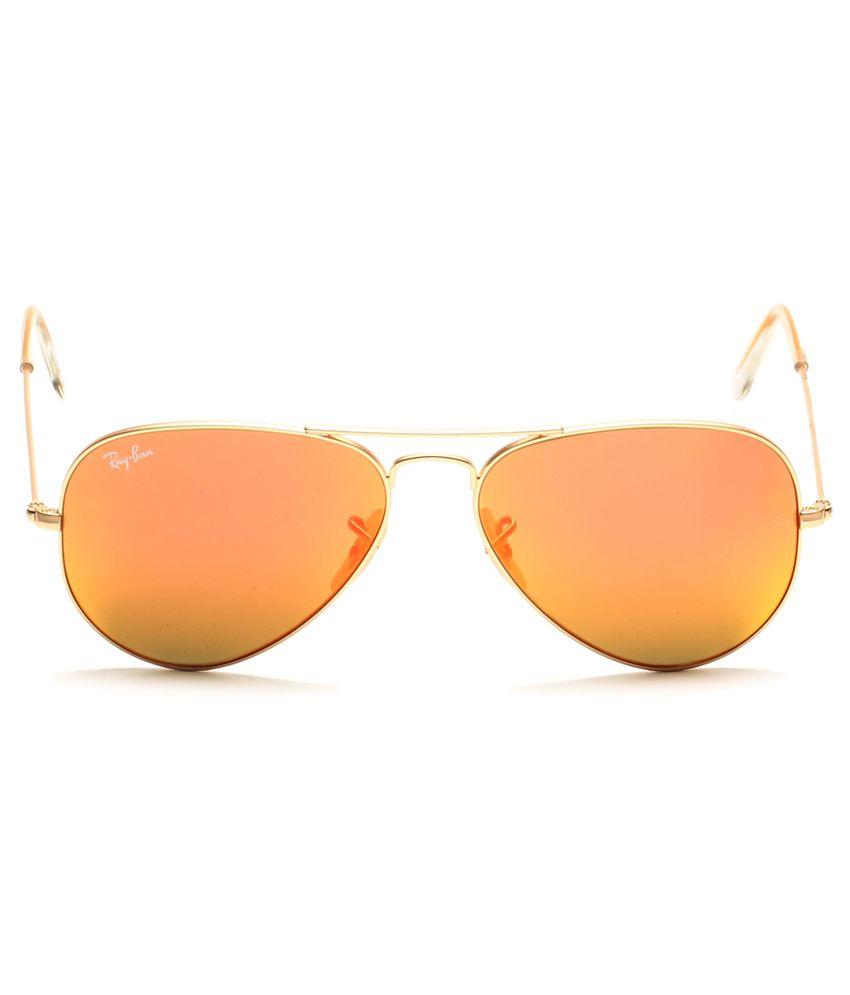 7a7608327b ... Ray-Ban Orange Aviator Sunglasses (RB3025 112 69 62-14) ...