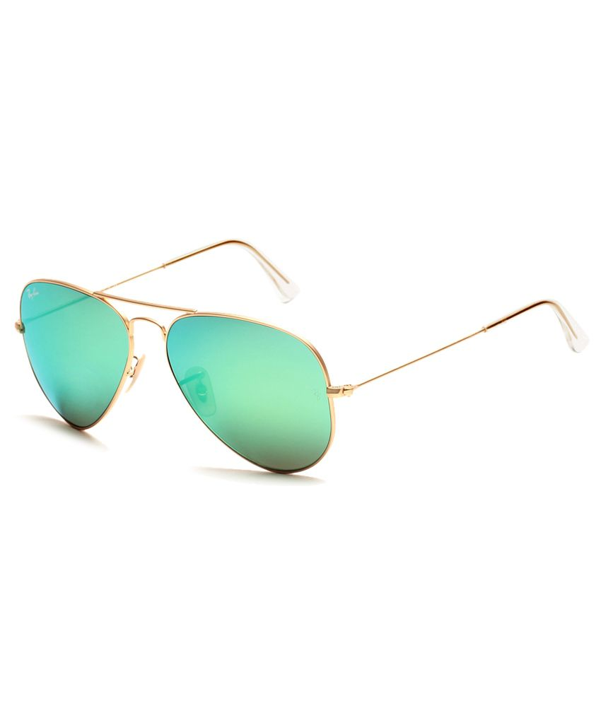 online shopping ray ban  Ray-Ban Green Aviator Sunglasses (RB3025 112/19 62-14) - Buy Ray ...