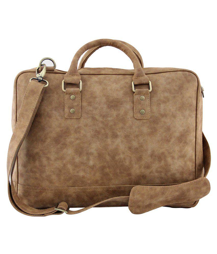 Mohawk Scarla Laptop Bag-Tan