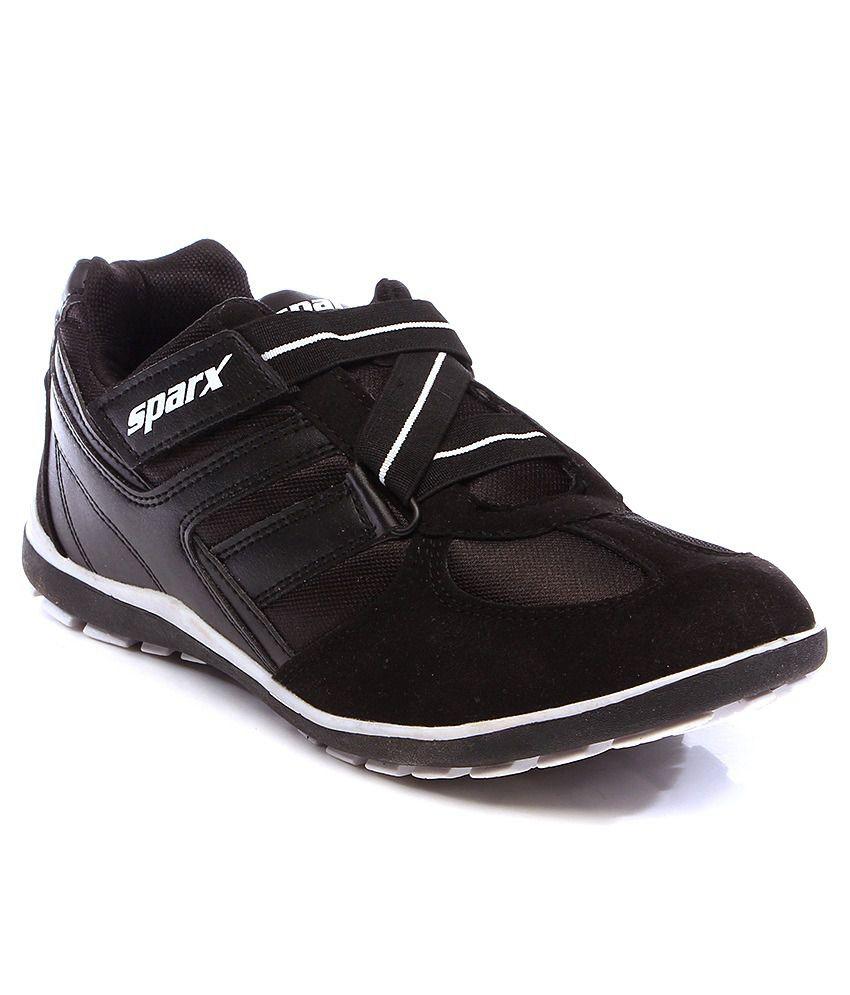 sparx black sport shoes buy sparx black sport shoes