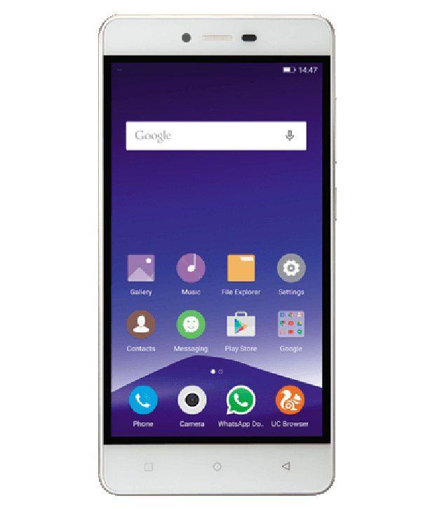 Gionee ( 16GB , 2 GB ) White