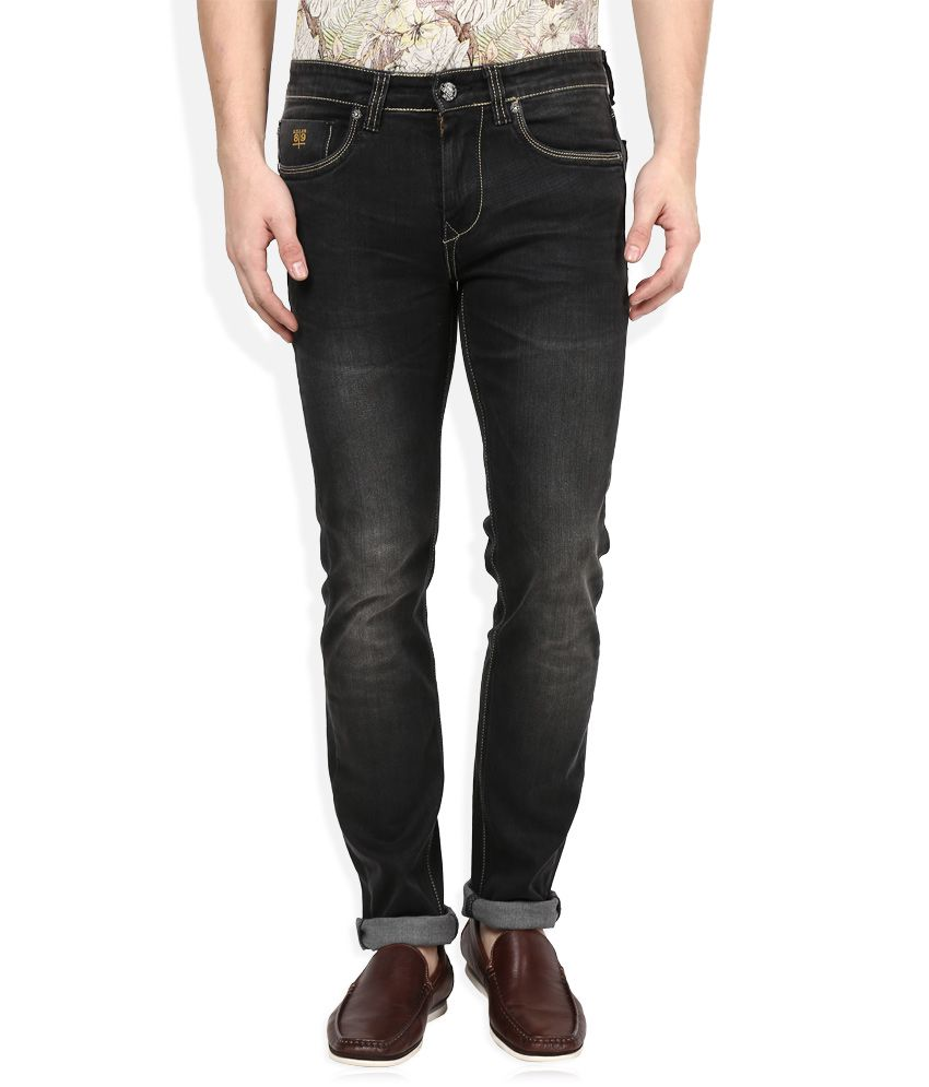 Killer Black Dark Wash Slim Fit Jeans