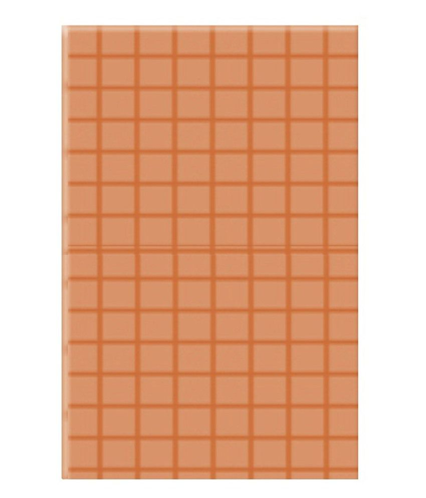 Buy White Feet Tiles Brown Non Ceramic Tile 4 Pcs Online At Low Price In India Snapdeal
