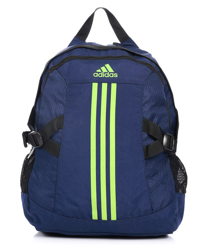 d5898d8f7f3 Adidas Blue Backpack - AA8497 - Buy Adidas Blue Backpack - AA8497 Online at  Best Prices in India on Snapdeal