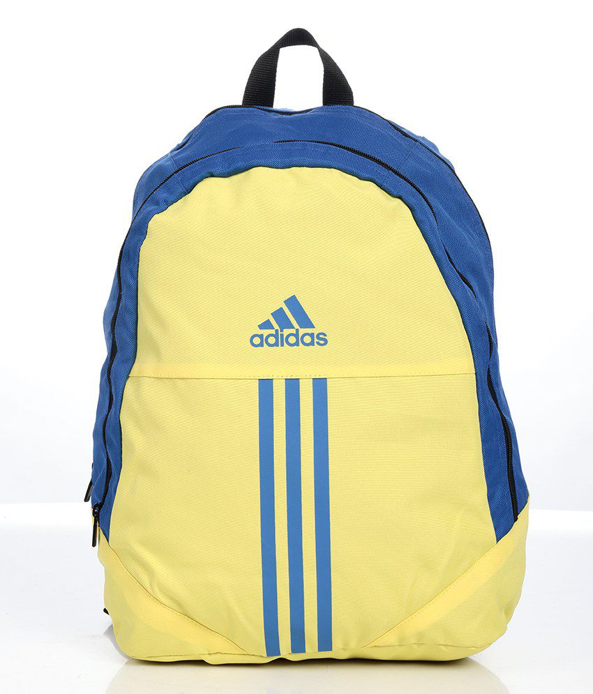 adidas yellow amp blue backpack aa8482 buy adidas yellow