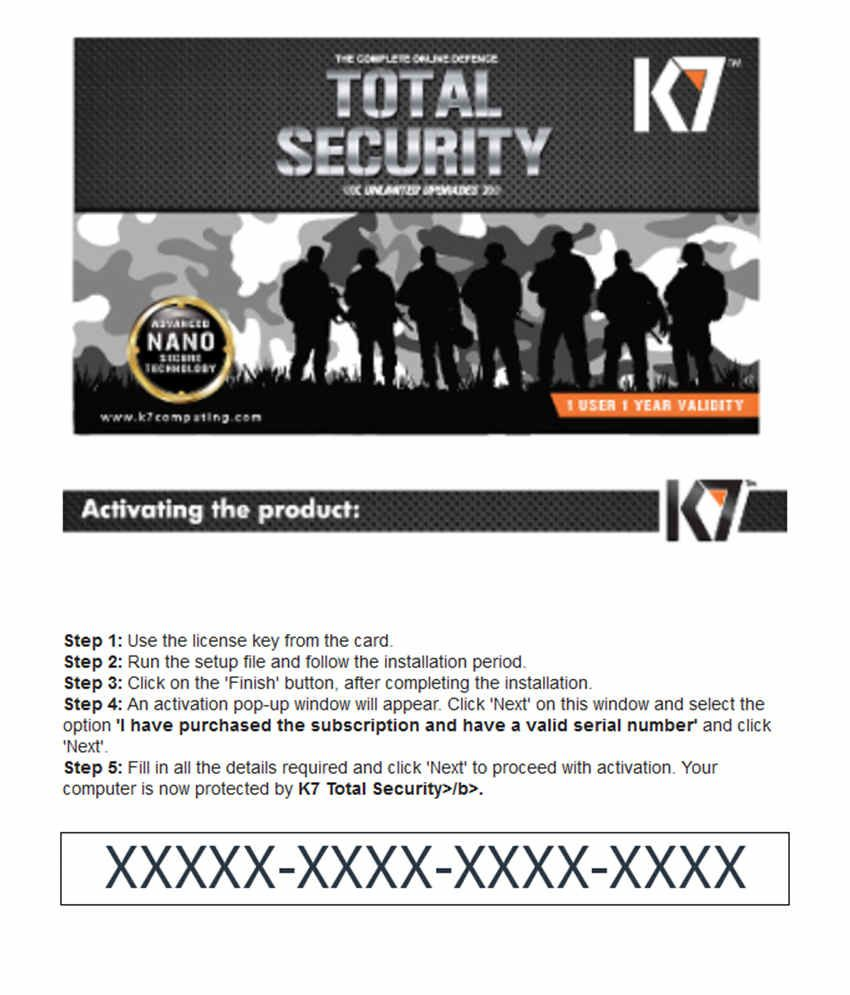 k7 total security key check