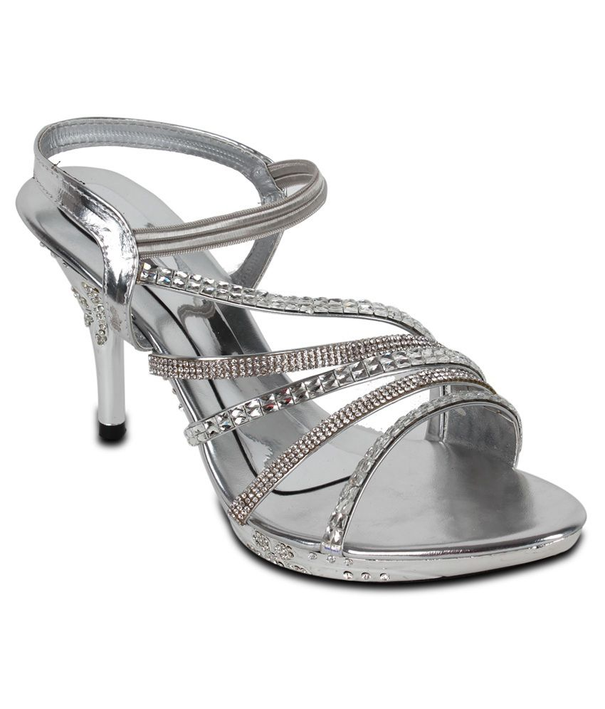 Ninelifestyle Silver Sandals