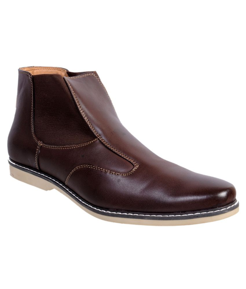 Gobro Brown Boots