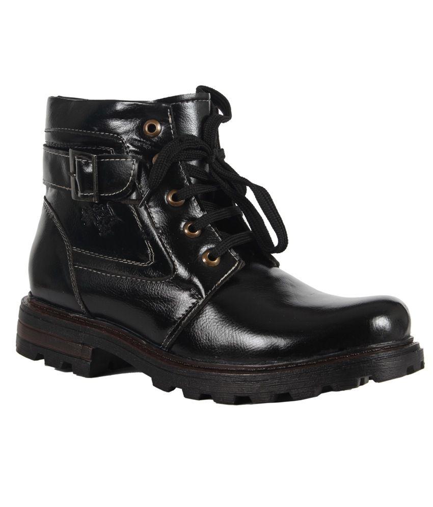 Lamoste Black Boots