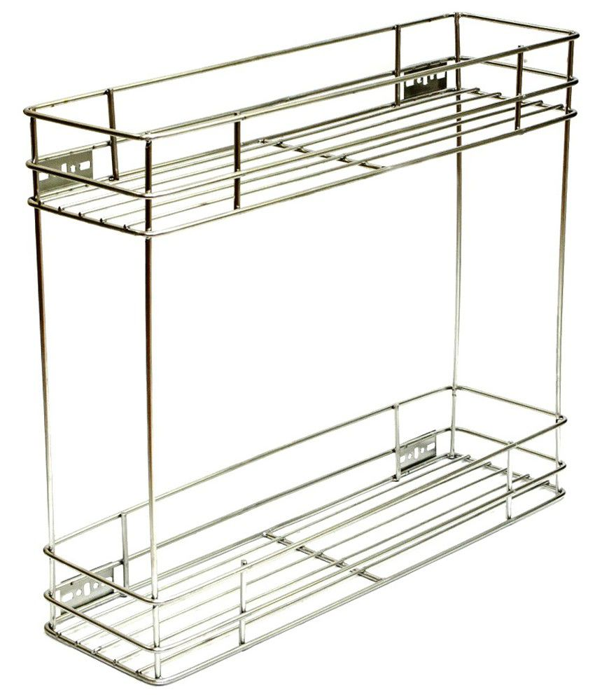 Buy Osai Kitchen Home Silver Stainless Steel Kitchen Rack Online At Low Price In India Snapdeal
