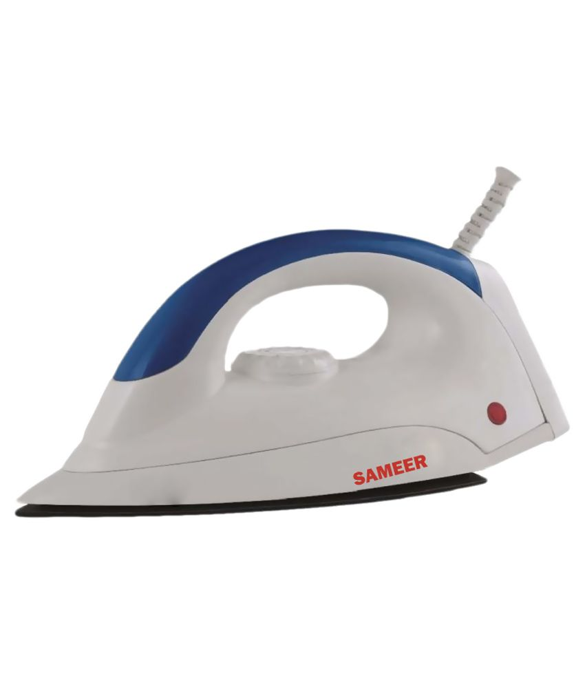 Sameer Cool Touch Dry Iron White