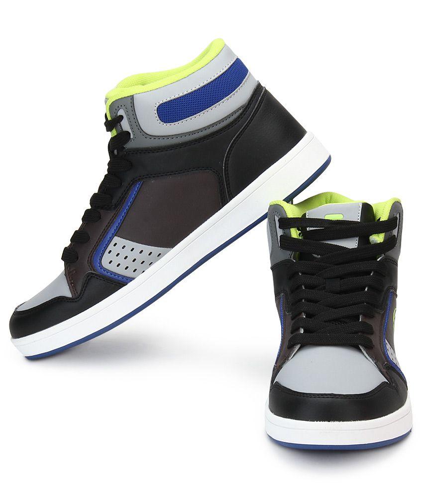 Fila Black Lifestyle Shoes - Buy Fila