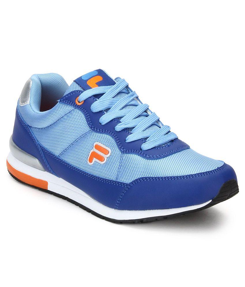 Fila Elios Blue Sport Shoes - Buy Fila Elios Blue Sport ...