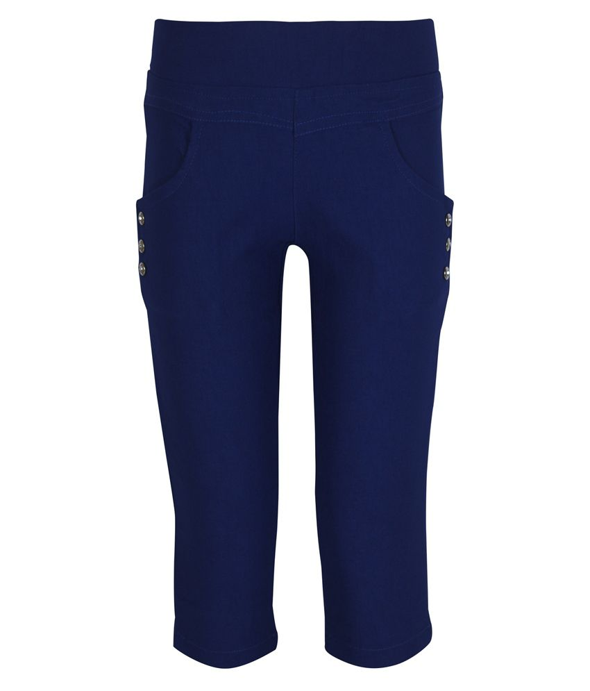 Jazzup Blue Capris