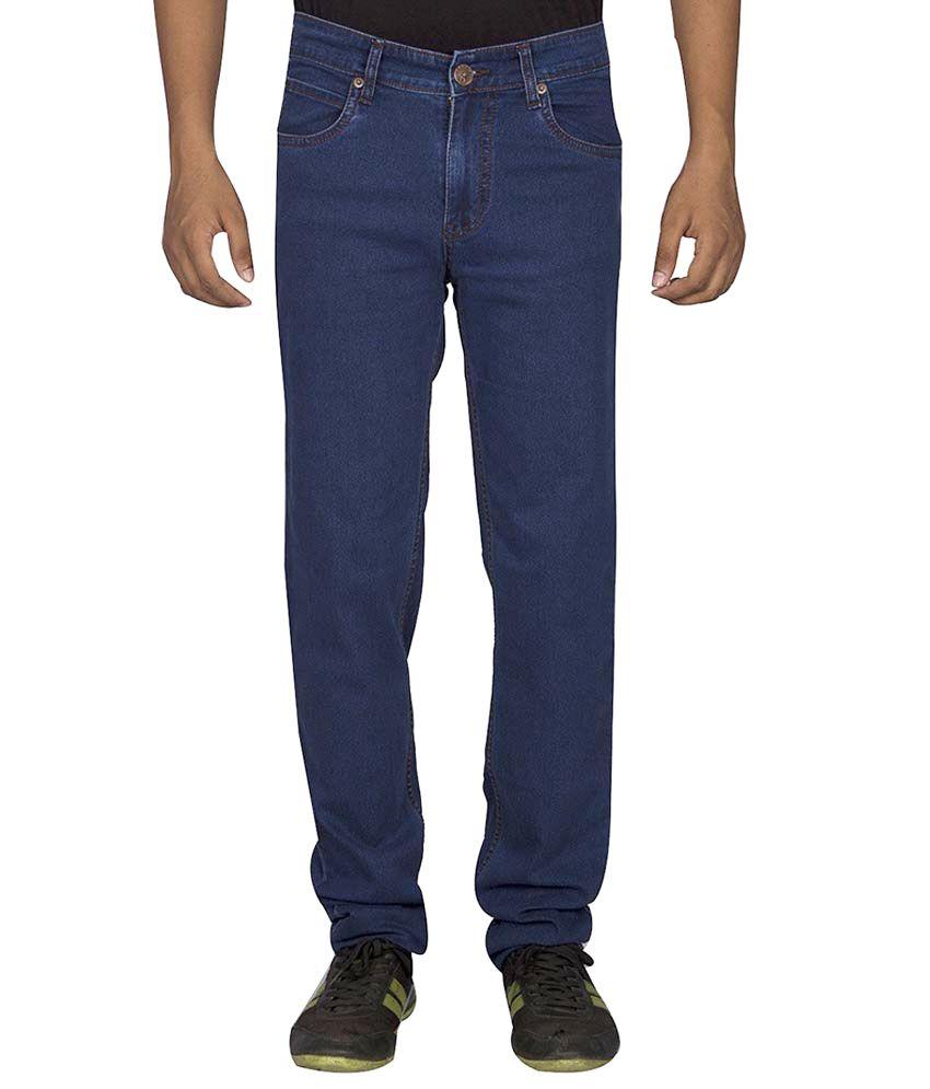 D-a-d Blue Regular Fit Jeans