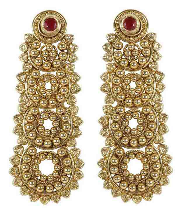 90fa3b71e9e Much More Gorgeous Ruby Stone Made Gold Plated Polki Earring For Women Gift  Jewelry - Buy Much More Gorgeous Ruby Stone Made Gold Plated Polki Earring  For ...
