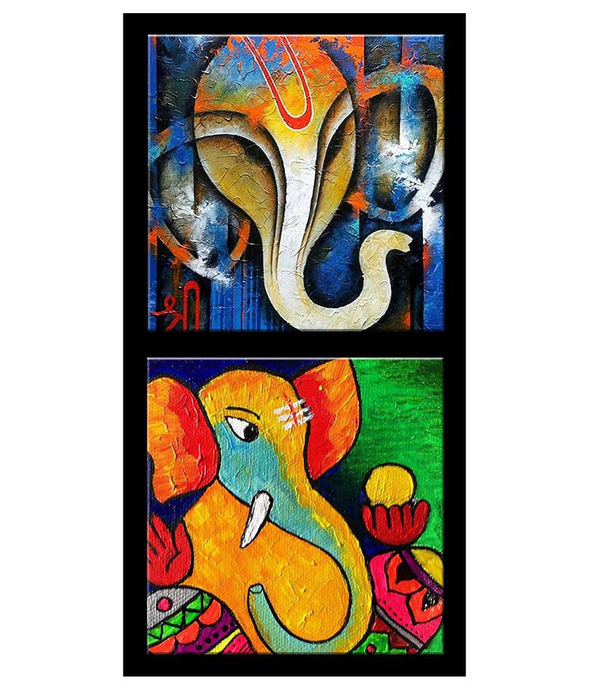 Room decore- Gift for Diwali -Beautiful Lord Ganesha different Moods- Wall Hanging
