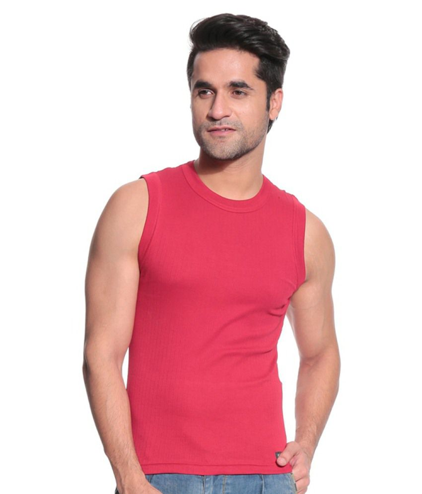 527755d3 TSG Escape Red Muscle tee vest -Pack of 3 - Buy TSG Escape Red ...