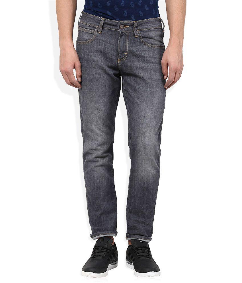 Wrangler Grey Skinny Fit Jeans