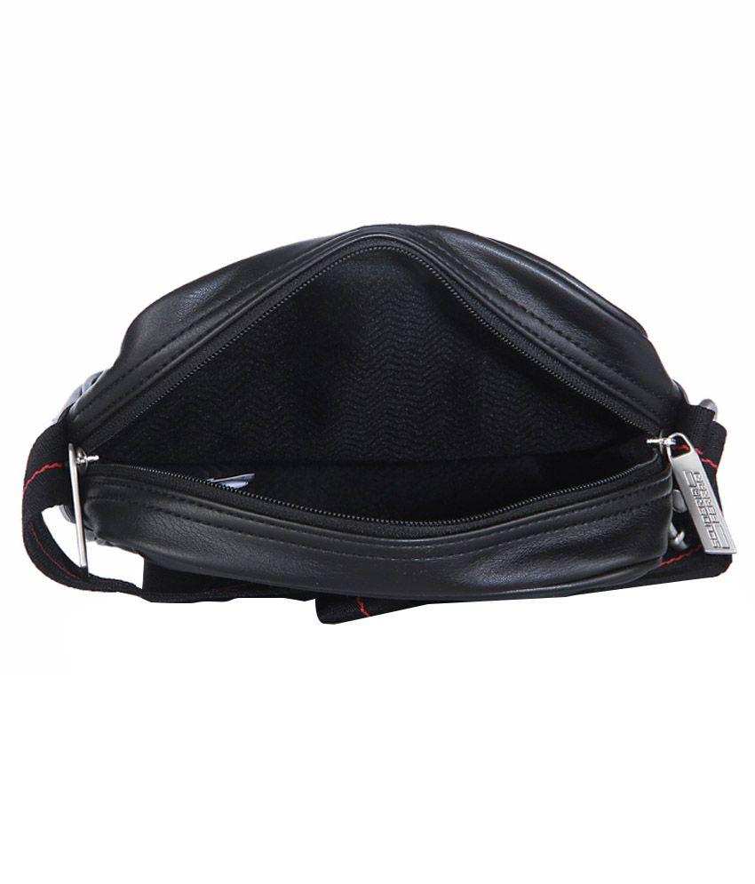 a16bf05ba028 Puma Ferrari LS Portable Sling Bag - Black - Buy Puma Ferrari LS ...