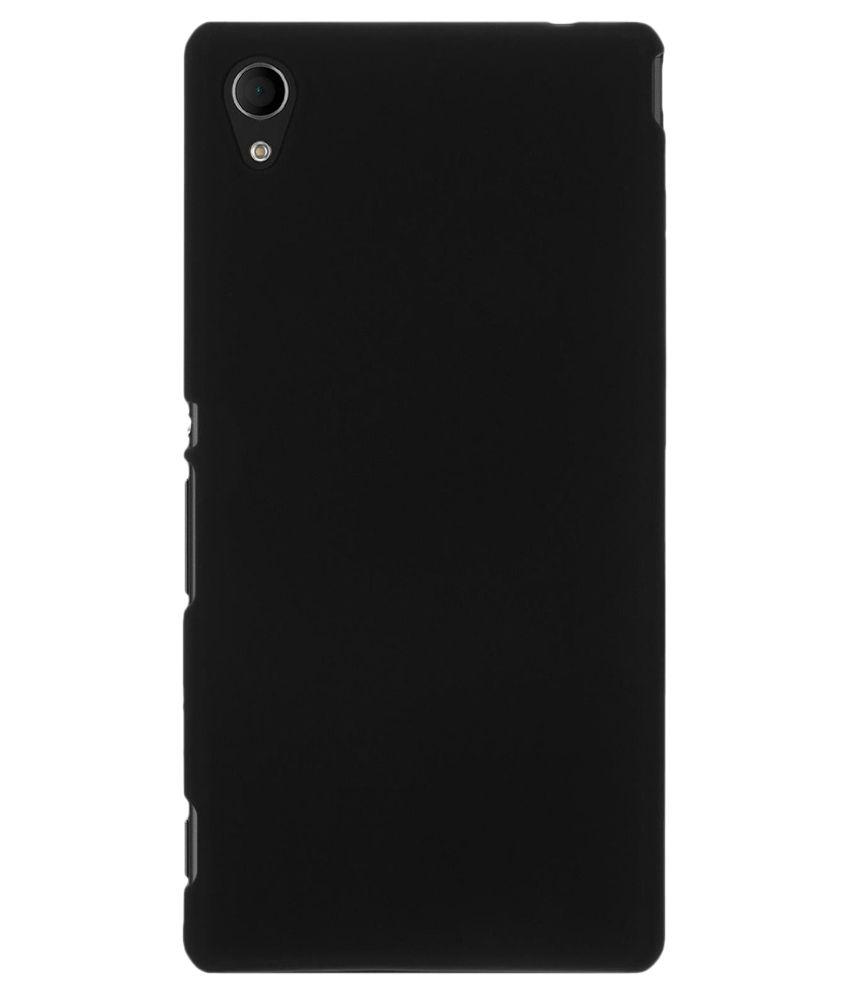 designer fashion c505f 65884 Sellnxt Back Cover Cases for Sony Xperia M4 Aqua - Black