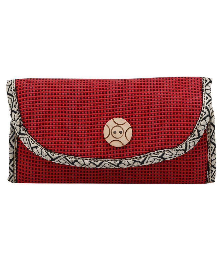 Benicia Red Regular Casual Wallet