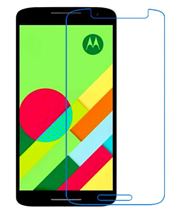 Moto X Play Tempered Glass Screen Guard by Uni Mobile Care