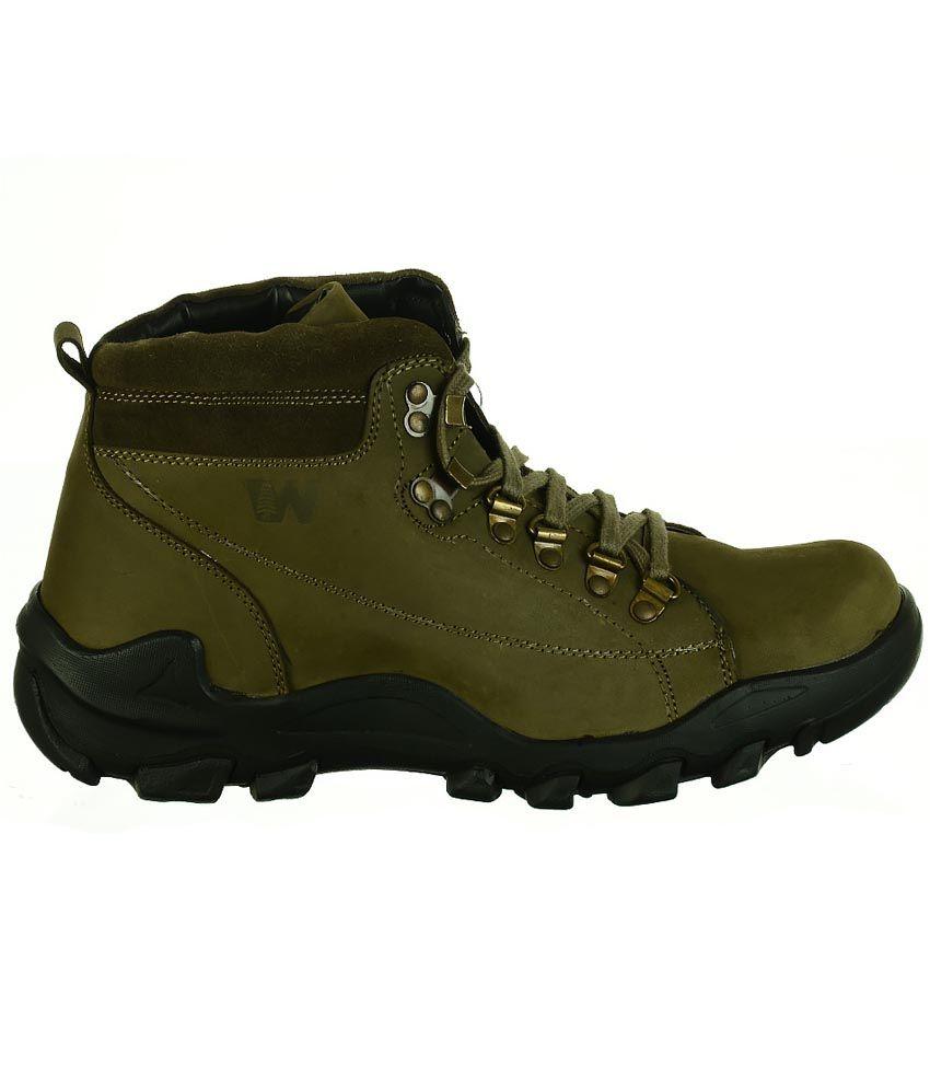 Bata Green Boots