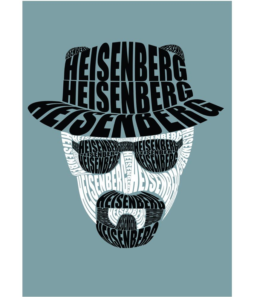 Credit Card Offers For Bad Credit >> Posterskart Heisenberg Breaking Bad Typography Poster: Buy ...