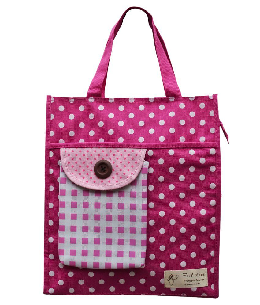 buy sg pink canvas cloth diaper bag at best prices in india snapdeal. Black Bedroom Furniture Sets. Home Design Ideas